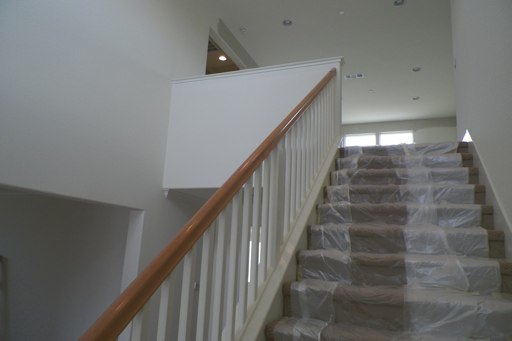 Interior Stair White Flying Wall